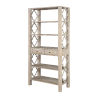 This item: Barrister Distressed Bookcase