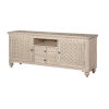 This item: Barrister Distressed Two-Drawer Two-Door Media Credenza