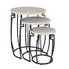 This item: Black 19-Inch Nesting Table, Set of 3