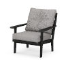 This item: Lakeside Black and Grey Mist Deep Seating Chair