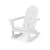 This item: Vineyard White Adirondack Rocking Chair
