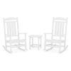 This item: Presidential White Rocker Set, 3-Piece