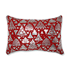 This item: Red Metallic Christmas Trees 17-Inch Throw Pillow