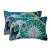 This item: Sophia Green Blue Gray Throw Pillow, Set of Two