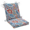 This item: Moroccan Blue Red Yellow Chair Cushion