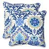 This item: Blue Outdoor Santa Maria Azure 18.5-Inch Throw Pillow, Set of 2