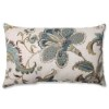 This item: Finders Keepers Blue Rectangular Throw Pillow