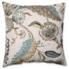 This item: Finders Keepers Blue 16.5-Inch Square Throw Pillow