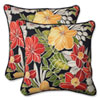 This item: Clemens Noir 18.5-Inch Outdoor Throw Pillow, Set of 2