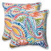 This item: Ummi Multicolor 18.5-Inch Outdoor Throw Pillow, Set of 2