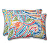 This item: Ummi Multicolor Over-sized Rectangular Outdoor Throw Pillow, Set of 2