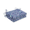 This item: Outdoor / Indoor New Damask  Marine Squared Corners Seat Cushion (Set of 2)