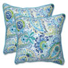 This item: Outdoor / Indoor Gilford Baltic 18.5-Inch Throw Pillow (Set of 2)