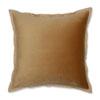 This item: Velvet Flange Umber Gold 18-Inch Throw Pillow