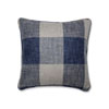 This item: Indoor Check Please Lakeland Blue 16.5-Inch Throw Pillow