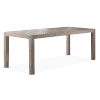 This item: Auckland Weathered Gray Dining Table