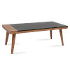 This item: Caspian Black and Natural Cocktail Table