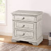 This item: Highland Park Distressed Rustic Ivory Nightstand