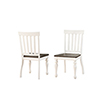 This item: Joanna Ivory and Charcoal Two Tone Side Chair