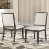 This item: Mila Washed Gray 25-Inch Side Chair, Set of 2
