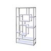 This item: Alize White Bookcase