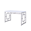 This item: Alize White Writing Desk
