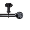 This item: Twine Black 160-240 Inches Ceiling Curtain Rod
