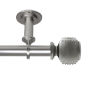 This item: Bennett Satin Nickel 28-48 Inches Ceiling Curtain Rod