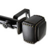 This item: Bennett Black 48-84 Inches Curtain Rod