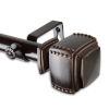 This item: Bennett Bronze 48-84 Inches Curtain Rod