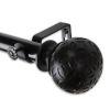 This item: Odelia Black 160-240 Inches Curtain Rod