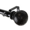 This item: Odelia Black 48-84 Inches Curtain Rod