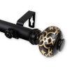 This item: Maple Black 48-84 Inches Curtain Rod