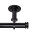 This item: Bun Black 160-240 Inches Ceiling Curtain Rod
