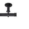 This item: Bun Black 28-48 Inches Ceiling Curtain Rod