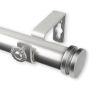 This item: Bun Satin Nickel 120-170 Inches Curtain Rod
