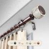 This item: Josephine Bronze 48-84 Inch Curtain Rod