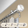 This item: Ironwood Satin Nickel 48-84 Inch Curtain Rod