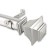 This item: Bach Satin Nickel 115-165 Inches Curtain Rod