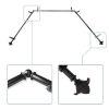 This item: Bloom Black 144-Inch Bay Window Curtain Rod
