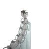 This item: Satin Nickel 41-Inch Shower Curtain Rod