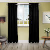 This item: Black 180 W x 108 H In. Blackout Curtain