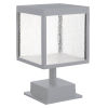This item: Reveal Satin Gray 7-Inch Led Outdoor Square Pier Mount