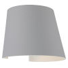 This item: Cone Satin Led Outdoor Wall Sconce