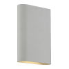 This item: Lux Satin 6-Inch Led Bi-Directional Wall Sconce