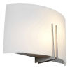 This item: Prong Brushed Steel 12-Inch Two-Light Led Wall Sconce