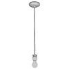 This item: Janine Brushed Steel Led Mini Pendant