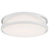 This item: Lucia White 14-Inch LED Flush Mount