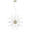 This item: Burst Antique Bronze Nine-Light Led Pendant