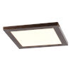 This item: Boxer Brushed Steel Eight-Inch LED Flush Mount